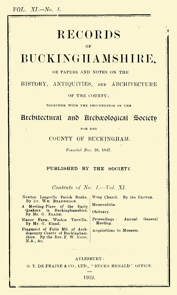 Cover of Records volume 11