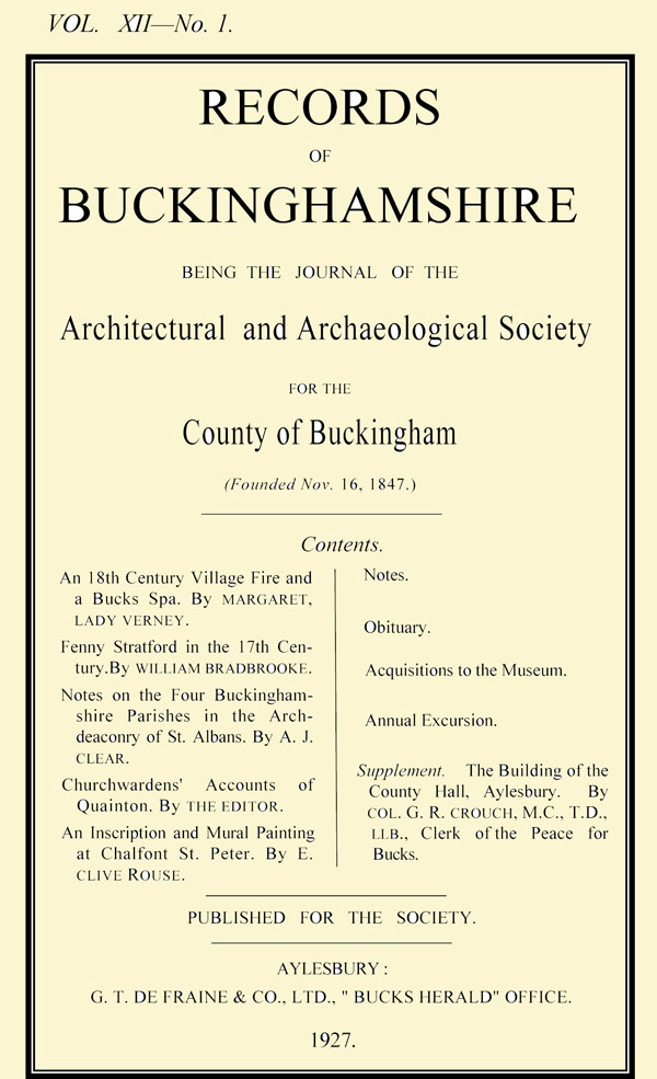 Cover of Records volume 12
