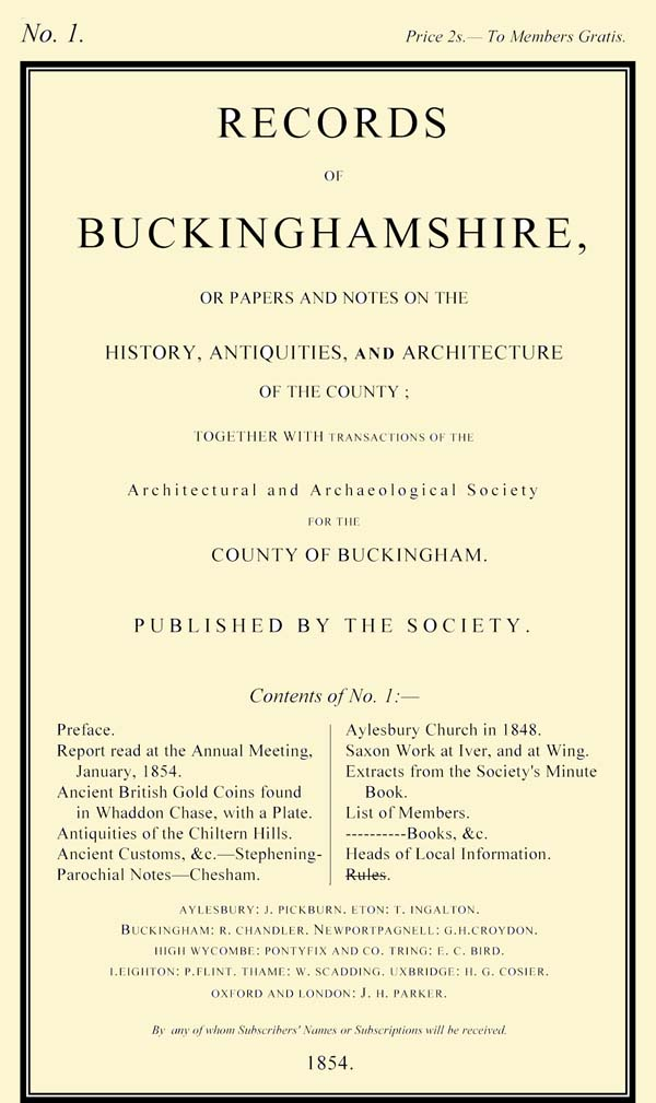 Cover of Records volume 1
